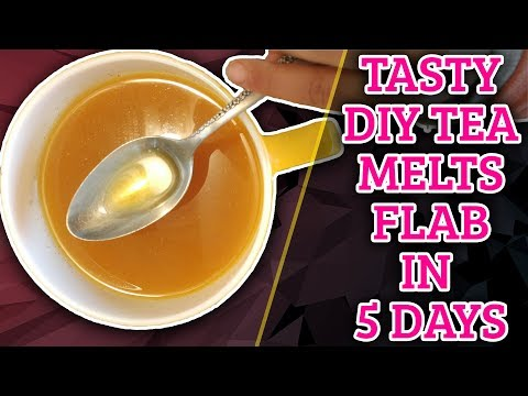 Melt Belly Flab FAST (5 mins!) with this Tasty Turmeric Tea Weight Loss Recipe
