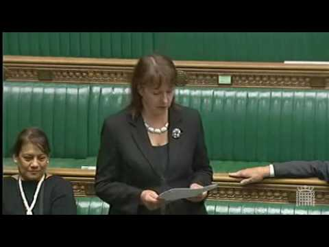 Teresa Pearce. MP for Erith and Thamesmead.