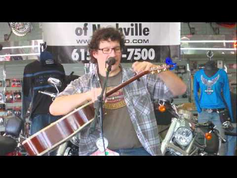 Harlan Pease entertaining at Bost Harley Davidson