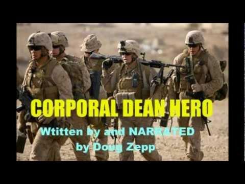 CORPORAL DEAN HERO written by Doug Zepp