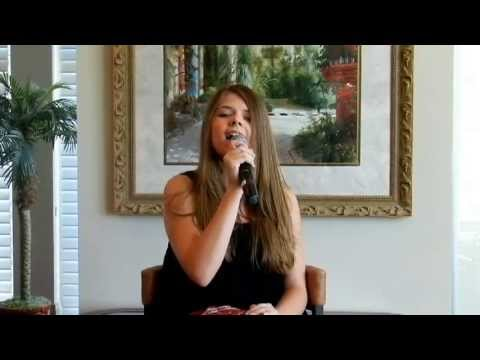 Karoline sings Blown Away a Cover Song by Carrie Underwood