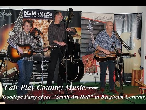 Fair Play Country Music at the Small Art Hall Goodbye Party