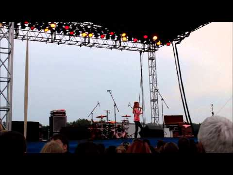 Chainsaw - The Band Perry - Cover - Tegan - Opening at Fair