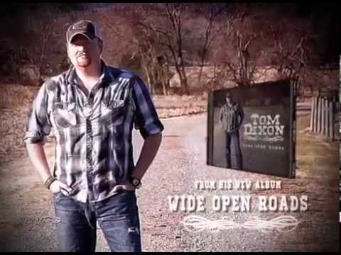 "Tom Dixon ""Wide Open Roads"" Album Release Ad"