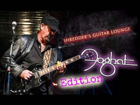 Shredder's Guitar Lounge FOGHAT EDITION: Gear Talk with Bryan Bassett