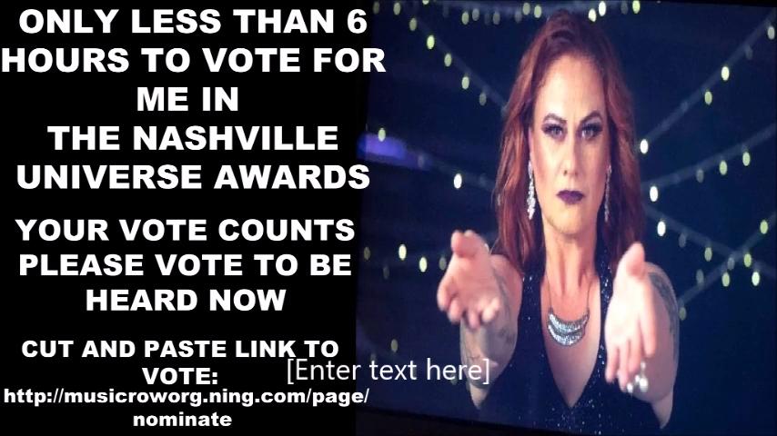 Nominated Song 'Broken' Nashville Universe Promotion Video