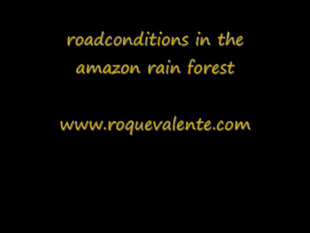 roadconditions amazon forest