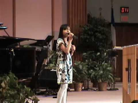 """Brianna Perez - Singing """"Redeemer"""" By Nicole Mullen"""
