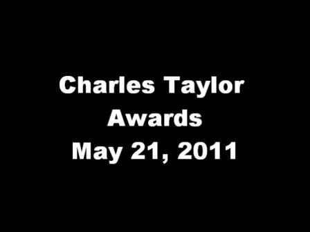 Charles Taylor Award 2011