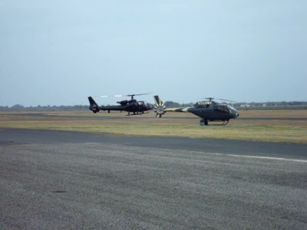 Eurocopter Gazelle in Texas