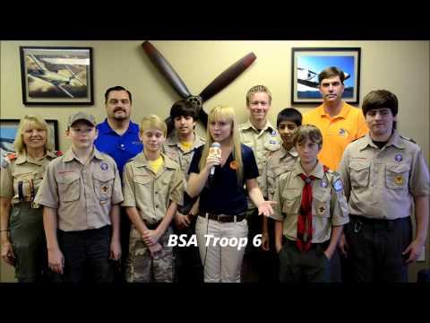 BSA Troop 6 is Going to SUN 'n FUN