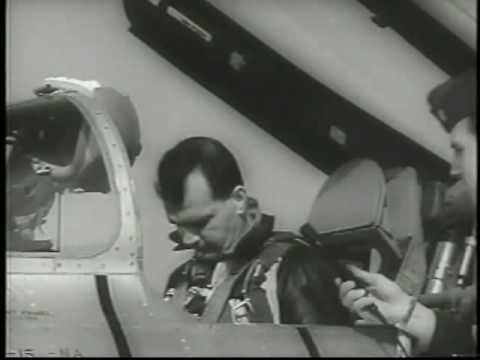 1956 FIRST SUPERSONIC EJECTION AIDS RESEARCH