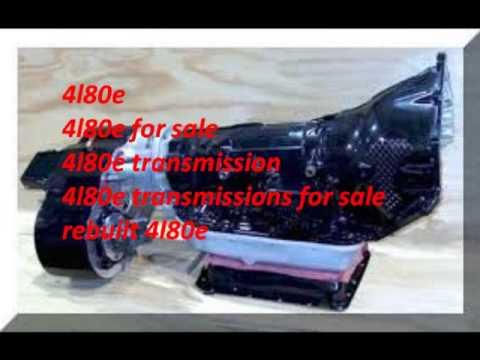 Remanufactured 4l80e Transmission