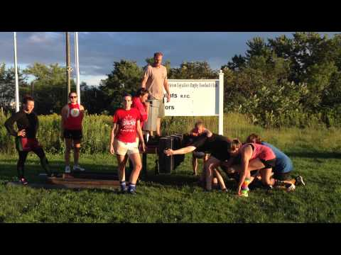 Fredericton Lady Loyalists ALS Ice Bucket Challenge