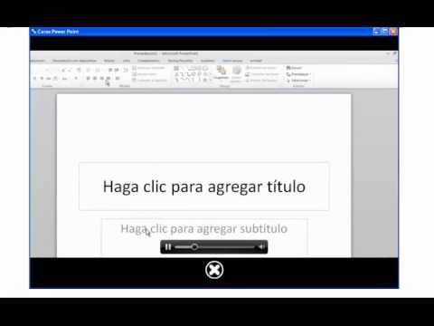 Curso biodnámico de PowerPoint 2010 para todos