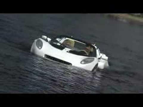 First Underwater Car