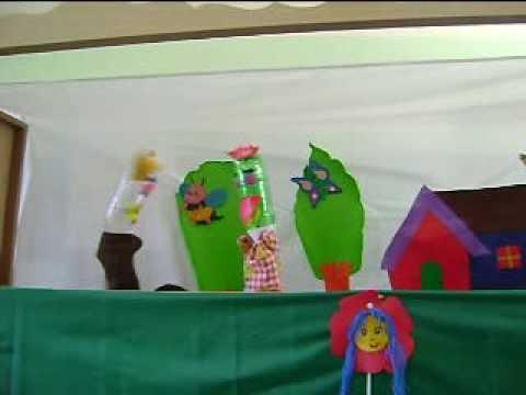 "Teatro de Titeres ""En busca de un nombre"" - OLPC XO - Experiencia Educativa con Títeres"