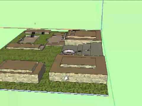 Templo de Chavín en 3D - Libro de Realidad Aumentada