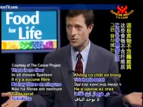 Dr. Neal Barnard: Eating Right for Cancer Survival - P1/8
