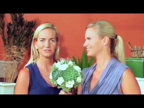 Flower Duet Makes a Succulent Bridal Bouquet