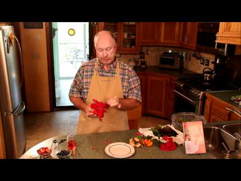 How to Eat a Rose, by Jim Long of Long Creek Herbs