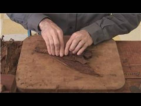 How Cigars are Made : Applying the Cigar Binder to Make Cigars