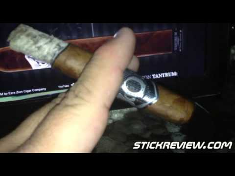 EZRA ZION TANTRUM Cigar Review From StickReview.com