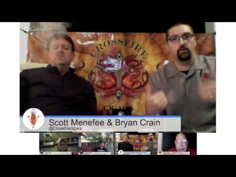 CigarChat LIVE with Crossfire Cigars