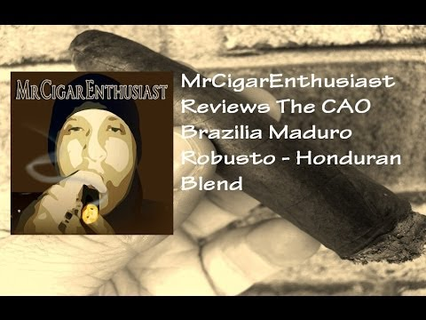 CAO Brazilia Maduro Robusto - Honduran Blend