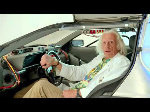 The Future Is Now! - 10/21/15 - A Special Message From Doc Brown