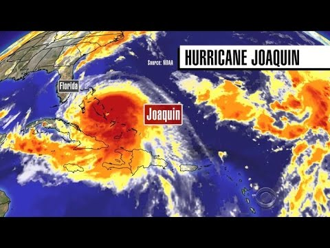 Hurricane Joaquin strengthens to Category 4