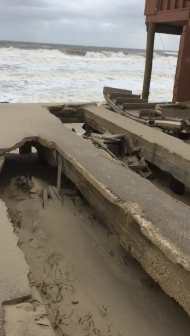 Video: Ortley Beach on October 4 2015