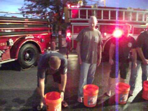 Toms River Fire Company #2 Ice Bucket Chalenge 2014