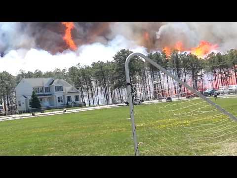 Beachwood, NJ Brush Fire 4-24-2014