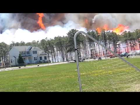 Beachwood, NJ Brush Fire 4-24-2014