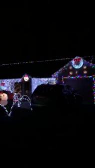 Toms River Home on Yellowbank Road Christmas 2014
