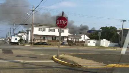 Fire in Seaside Park, NJ