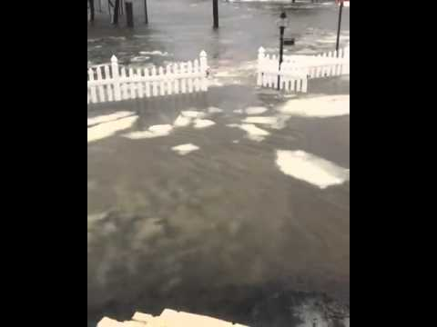 Ocean City tidal flooding pushes water on shore