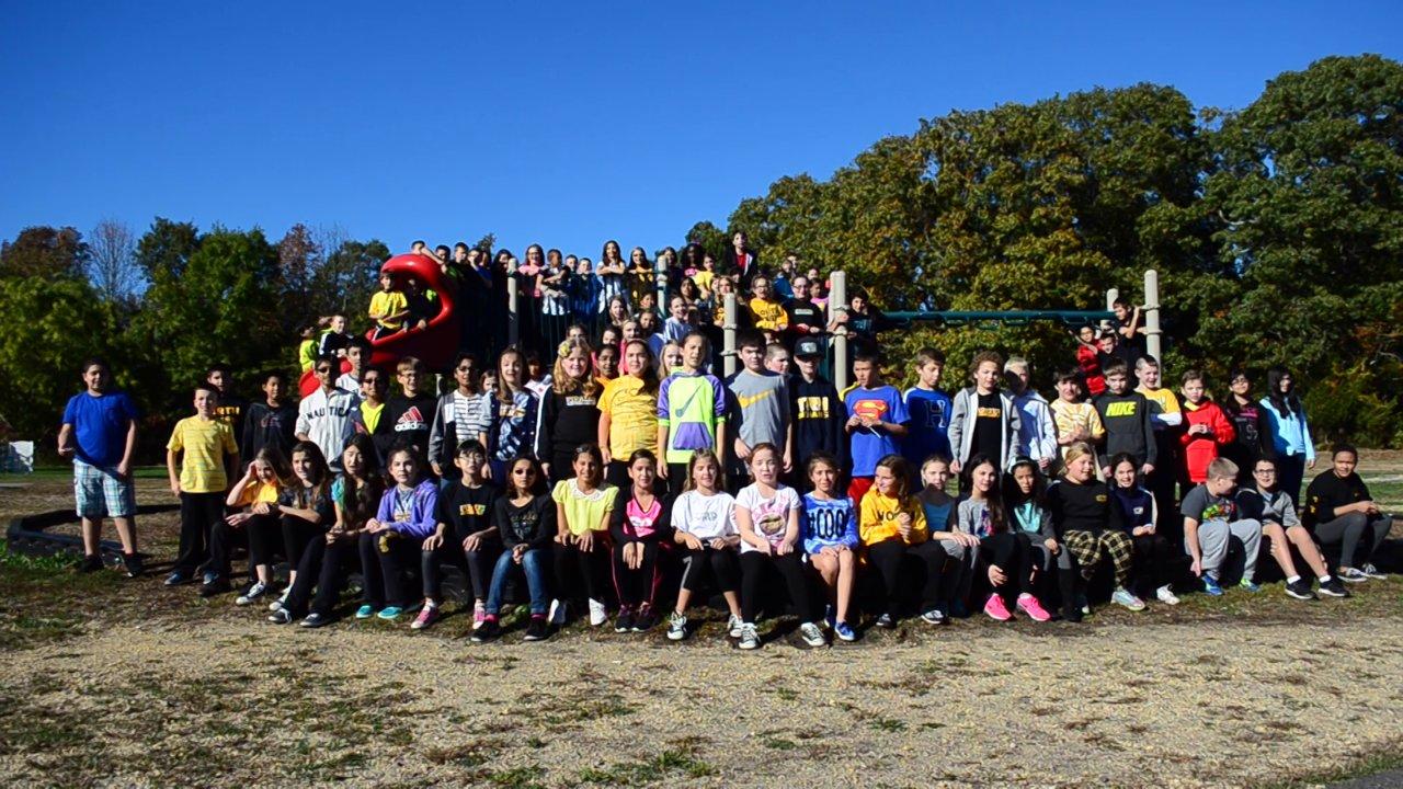 Shake it off North Dover Elementary School