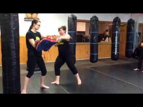 Kickboxing for Teens at Girl Fight in Toms River, NJ - www.IFightGirlFight.com