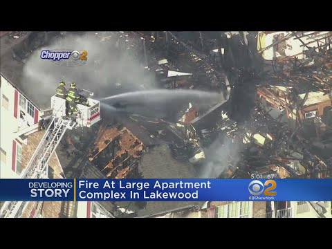 Devastating Fire Rips Through Apartment Complex In Lakewood, NJ
