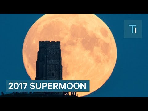 Look up, It's a Supermoon on December 3rd 2017 in Toms River