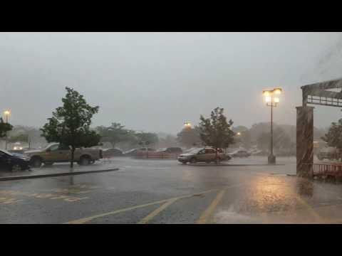 Tornado Touchdown in Howell, NJ - 06/24/17