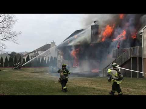 House fire in Toms River