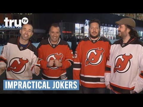 Impractical Jokers - Slapshot Punching Bag (Punishment) | New Jersey