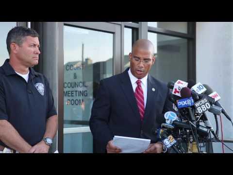 Seaside Park NJ explosion press conference