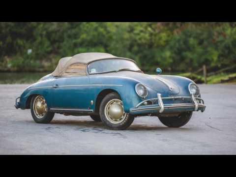 Auctions America - 1957 Porsche 356A 1600 Speedster - Barnfind