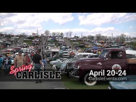 Official 2016 Spring Carlisle Event Commercial