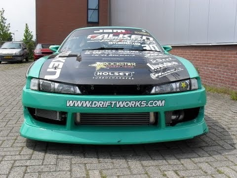NISSAN S14 RB26 FALKEN DRIFT TEAM - TFB media