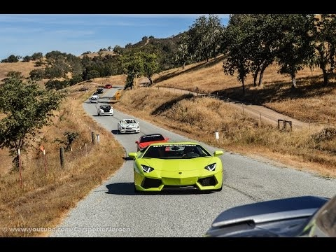 FUEL RUN 2017 | Monterey to Laguna Seca | Monterey Carweek 2017 [Mr Philipp]